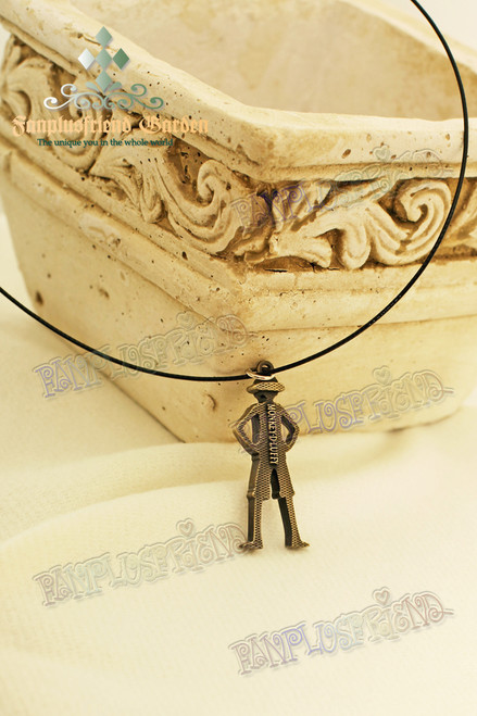 Monkey D. Luffy Model Pendant Necklace (One Piece)
