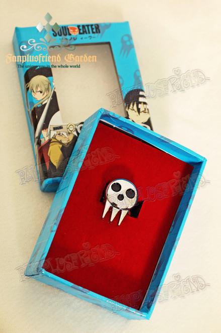 Gothic Maka Albarn Skull Ring (Soul Eater)
