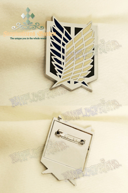 Gothic Investigation Corps Brooch (Attack on Titan)