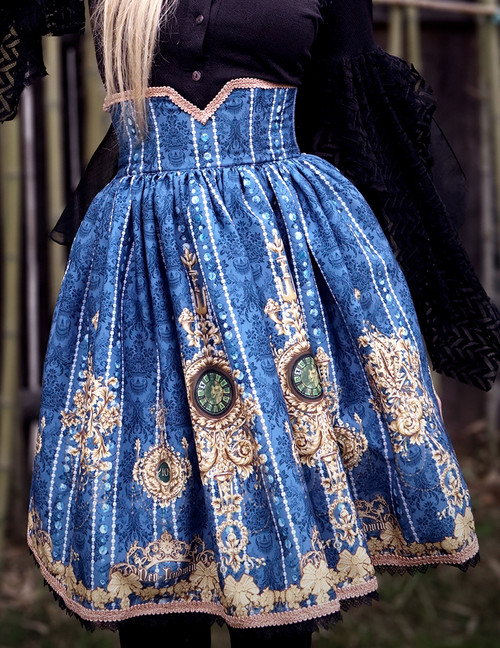 Model Show (Dark Blue Ver.) (petticoat: UN00027)