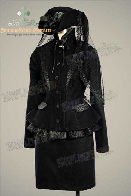 Coordinates Show (Black Ver.) (hat: P00546, skirt: SP00124)