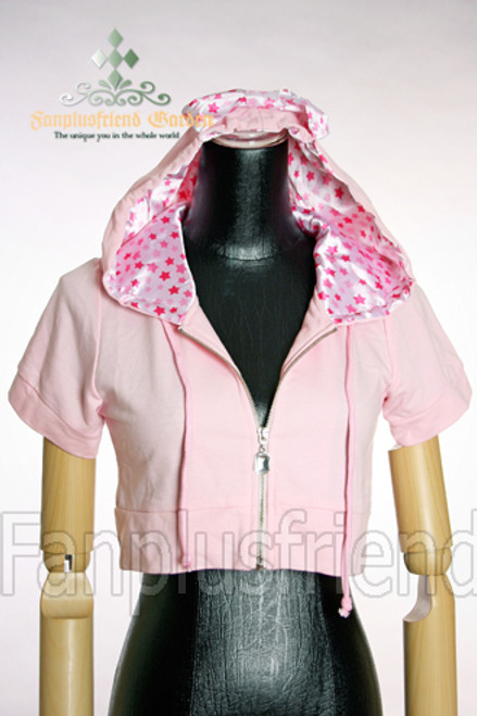 Last Chance: Sweet Casual Lolita: Short Hood Jacket*2 Colors Instant Shipping
