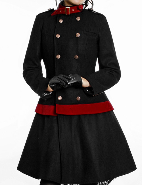 Model Show (Lady Black + Red Belts Ver.) (gloves: P00409)