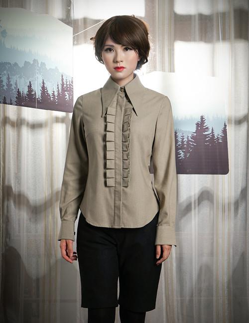 Model Show (Khaki Blend Version) Pants: SP00006N
