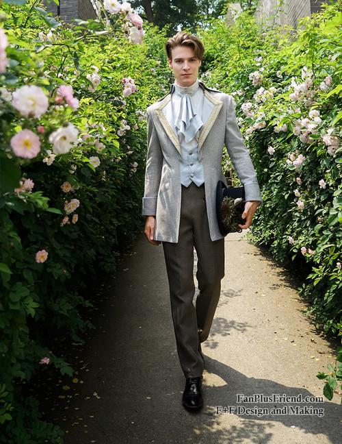 Steel Rose, Elegant Gothic Aristocrat Dandy Ouji Double ...
