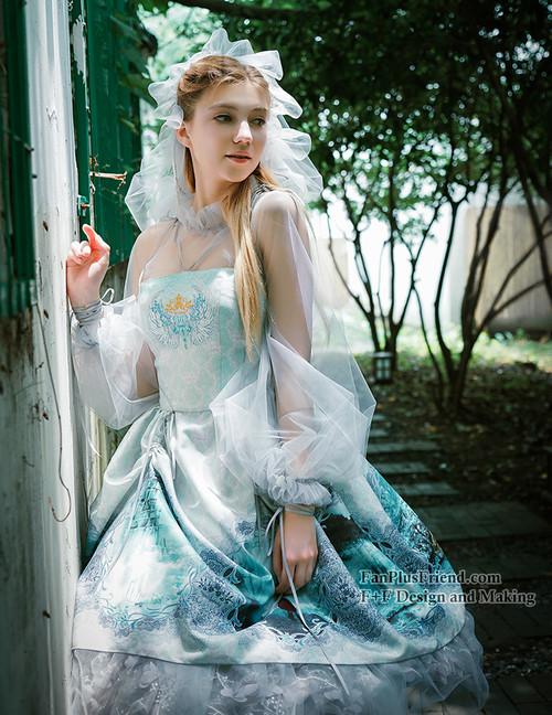 Model Show (Fairy Mint + Light Grey Tulle Ver.)