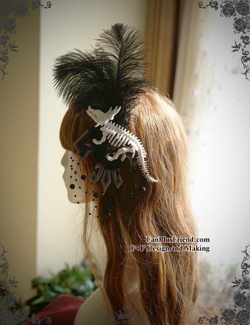 Worn as a Headdress