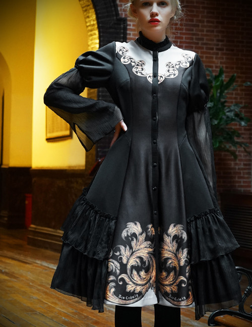Model Show (Black Version) (tulle petticoat: UN00026, birdcage petticoat: UN00027)