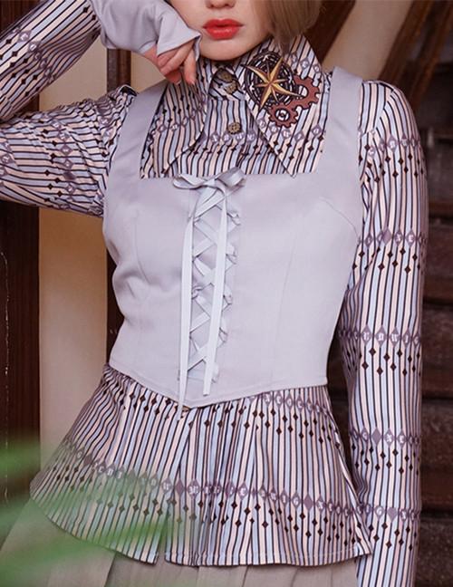 Model Show (Light Grey Ver.) (blouse: TP00139P)