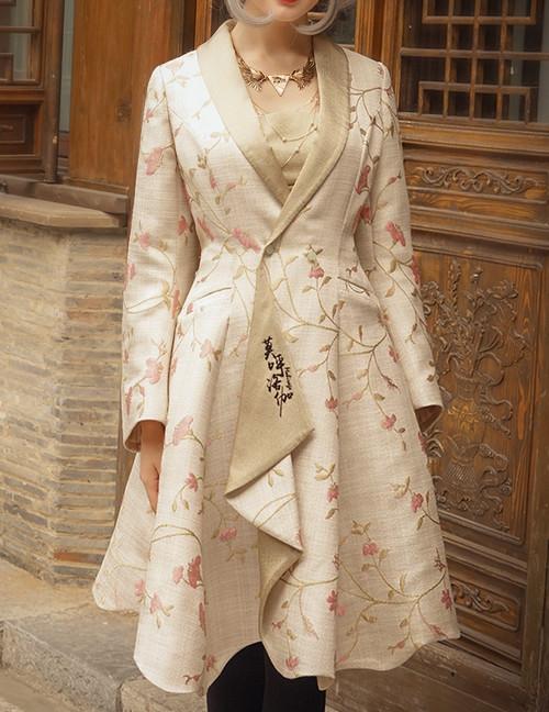 Model Show (dress underneath & necklace: DR00229)
