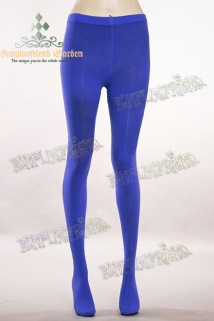 Basic Solid Color Leggings Tights*Navy Blue
