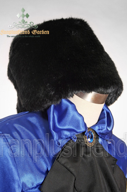 Elegant Gothic Warm Fur Puffy Hat*2colors