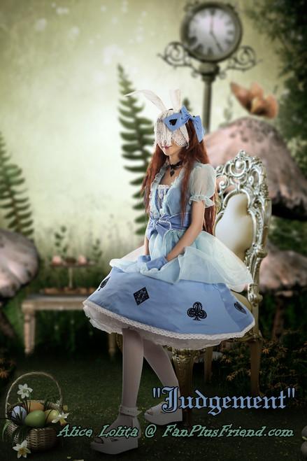 dress: DR00072;choker: AD00578;mitts: P00566 pannier: UN00022;leggings: P00187