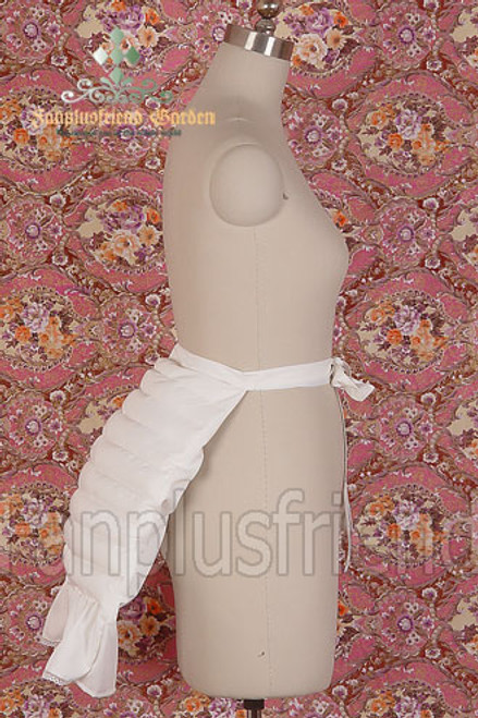 Gothic Lolita/ EGA: Cotton Bustle with Small Pillow