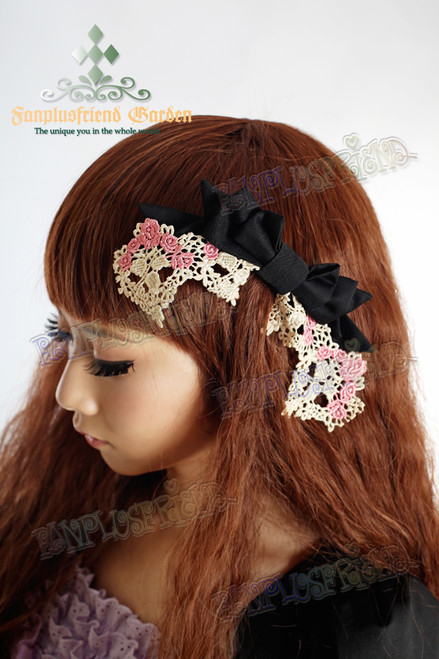 Dolly Kei Mix Lolita Bowknot Hairdress*3colors