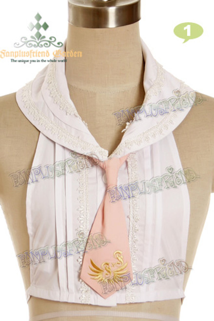 Militery Lolita Collar & Tie*4colors Instant Shipping