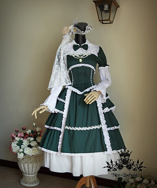 Co-ordinate Show(Green Ver.) blouse TP00016N, hat P00533, skirt SP00166