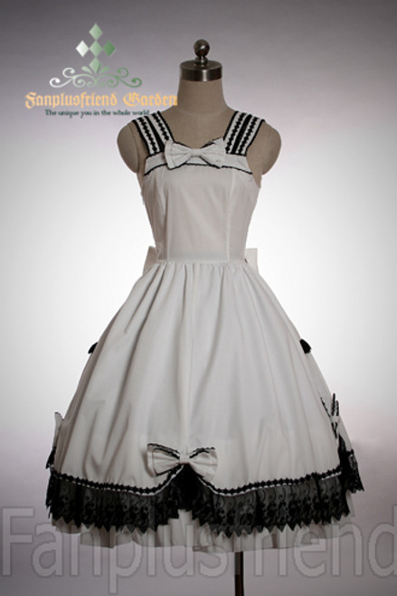 Last Chance: Gothic Lolita Scholarly Sweet Navy Dress/JSK*Instant Shipping