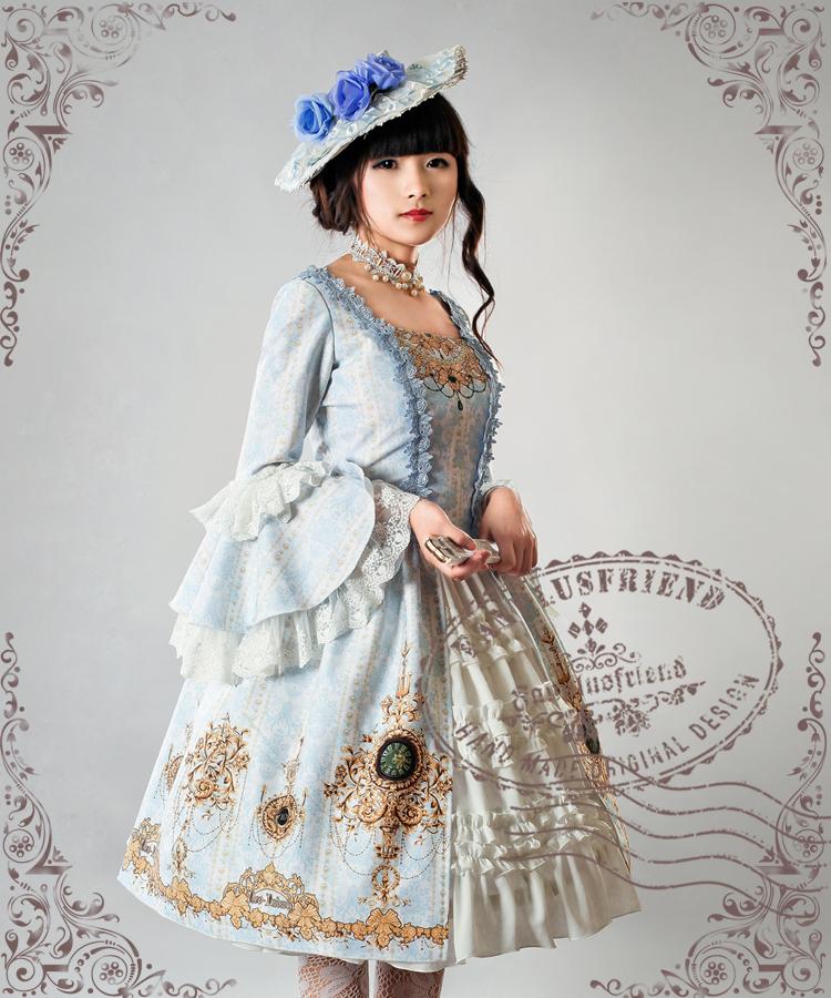 Ten O Clock Cinderella Elegant Gothic Rococo Lolita Series