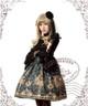 Model Show (Black + Grey Ver.) (hairdress: P00570, choker: AD00581, blouse: TP00142, gloves: P00581, leggings: P00523)