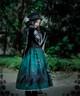 Model Show (hat: P00604, cape: CT00250, blouse: TP00051N, dress: DR00176)