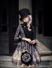 Model Show (Black + Grey Ver.) (hat & sash set: P00614, blouse: TP00125N, dress: DR00189, tote: P00583)