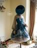 Co-ordinates Show (Misty Blue + Grey Tulle Ver.) (hat: P00609)