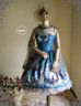 Front View (Misty Blue + Grey Tulle Ver.)
