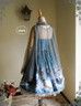 Back View (Misty Blue + Grey Tulle Ver.)