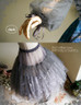 Detail View (Misty Blue + Grey Tulle Ver.)