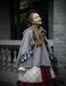 Model Show (Grey Ver.) (beret: P00632, blouse: TP00161, JSK: DR00209, tulle petticoat: UN00026, birdcage petticoat: UN00027)