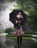 Model Show (Black + Cream Ver.) (dress: DR00206, blouse: TP00139, tulle petticoat: UN00026, birdcage petticoat: UN00027)