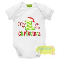 1st Christmas - Santa Hat on #1