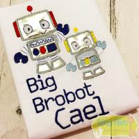 Robot Themed - Big Brother - Big Brobot