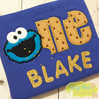 Cookie Monster Inspired Birthday