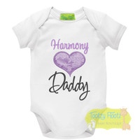 Fathers Day - Lace Love Heart (Purple)