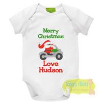 Christmas - Santa on Motorcycle