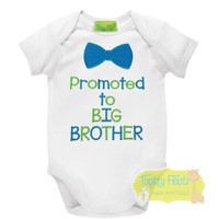 Promoted to BIG Brother (Bow Tie)