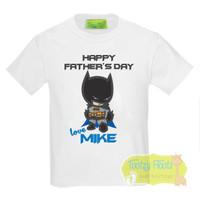 Fathers Day - Bat Boy (Blue Cape)