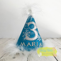 Frozen Inspired Party Hat