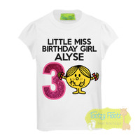 Little Miss Sunshine  Inspired Birthday