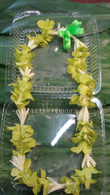 Tuberose & Green Orchid Combination Lei  -