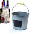 Metal Pail Vintage Finish