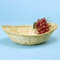 13 inch Bamboo Oval Basket or Tray