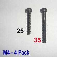 M4 x 35 -  Hex Socket Capscrew - 4 pack - (BSB-43504)