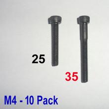 M4 x 35 -  Hex Socket Capscrew - 10 pack - (BSB-43510)