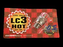 OS Glow Plug - LC3 - Long Reach - 0% to 7% Nitro - (OS-LC3)