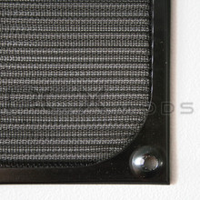 120mm Black Aluminum Mesh Fan Filter Premium Grade quantities are limited