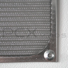 120mm Silver mesh Aluminum Fan Filter Premium Grade quantities are limited