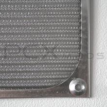 120mm Silver mesh Aluminum Fan Filter Premium Grade
